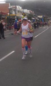 So happy to be finally finishing the 45km GORM.