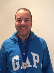 Silver medallist Nader