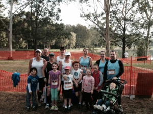Team Rachel's Runners take on the Heart of the Lake Fun Run