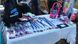 Just some of the fantastic prizes from our sponsors.