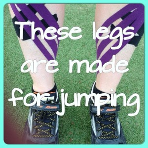 Tape legs