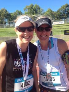 10km PB for Melissa!